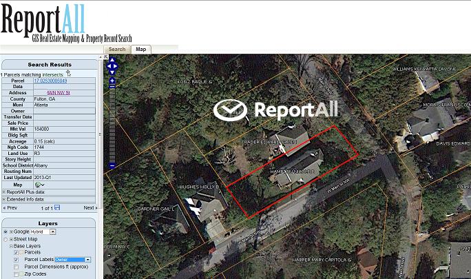 Find Property Lines Online