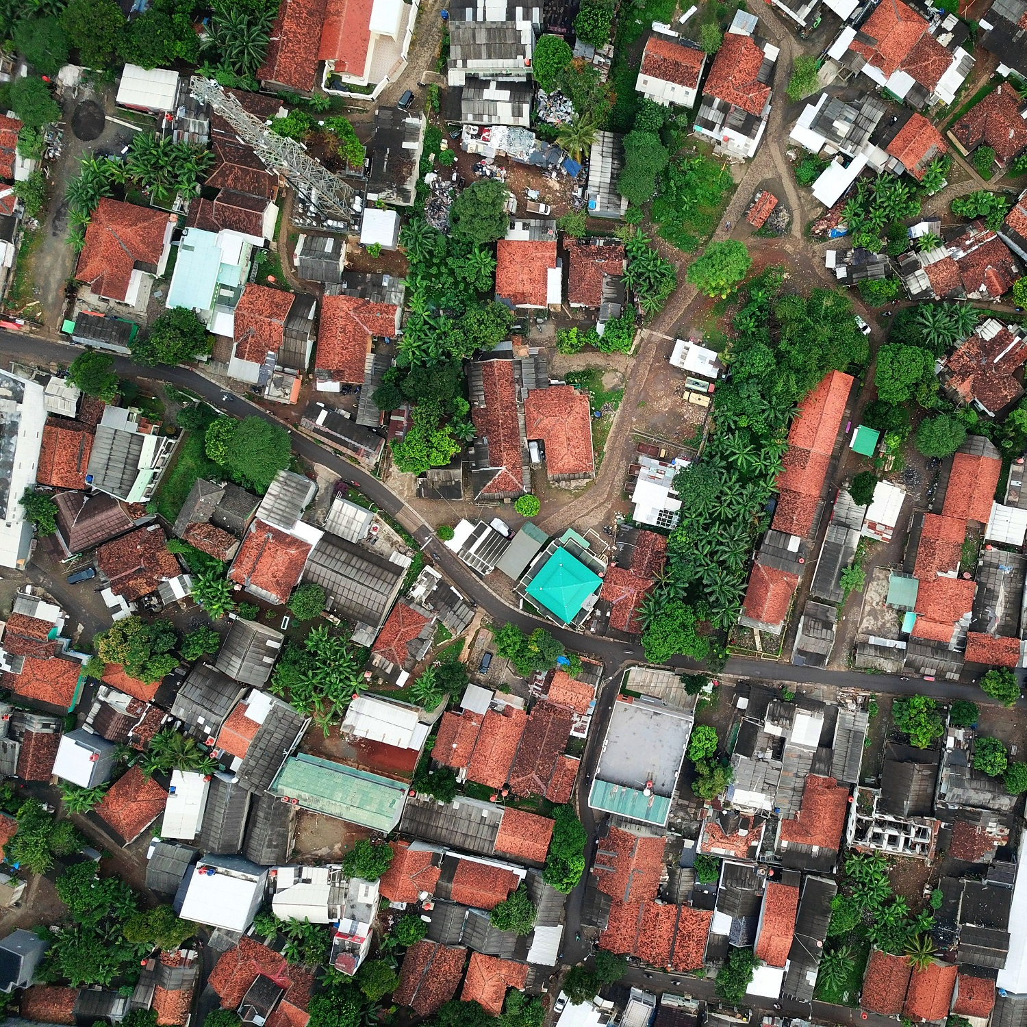 add building footprint to satellite imagery