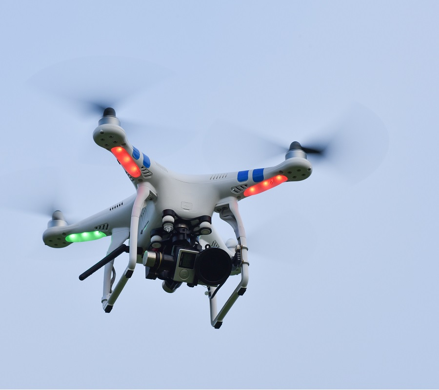property lines for drone geofencing