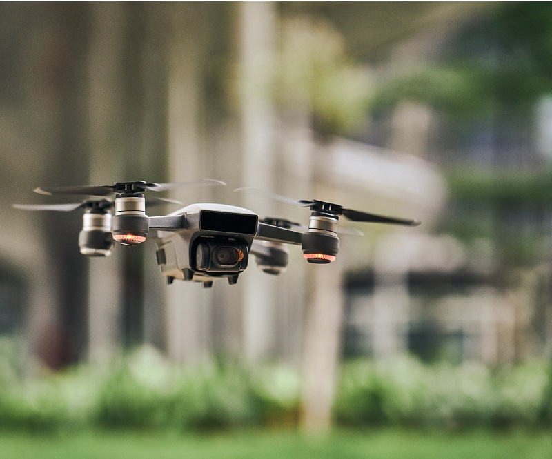 Drone trespassing app